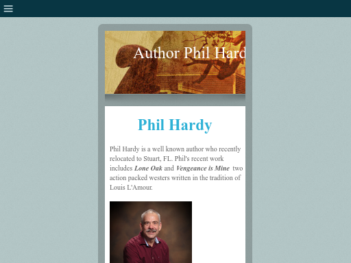 authorphilhardy.com