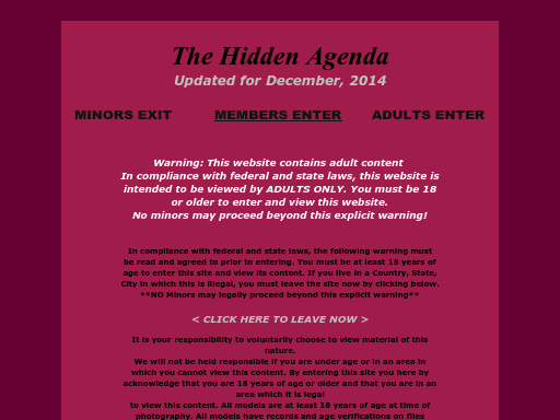 thehiddenagenda.com